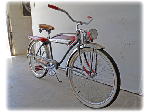 1956 jc higgins jetflow bicycle